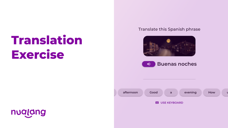 featured image thumbnail for post Translation Exercise